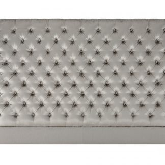 Neutral Color Tufted Headboard - London Headboards Clearance