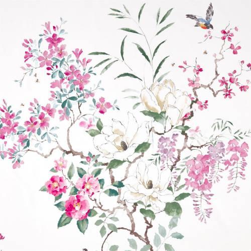 500-x-500cm-Sanderson Magnolia & Blossom 226292 - £52.00