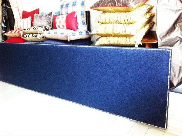 Nail Head Headboard - Give your stylish bedding a worthy backdrop