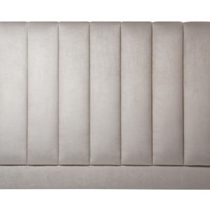 Sand Color Leather Headboard - London headboards Shop